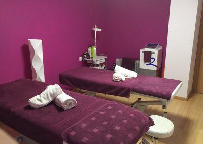 Sala de masaje